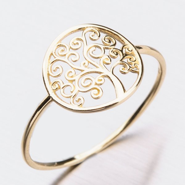 Prsten ze žlutého zlata 11-268