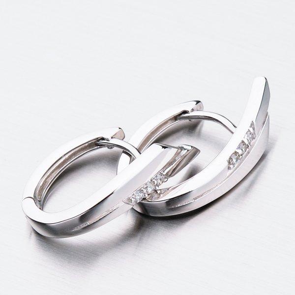 Stříbrné náušnice PKL-2031