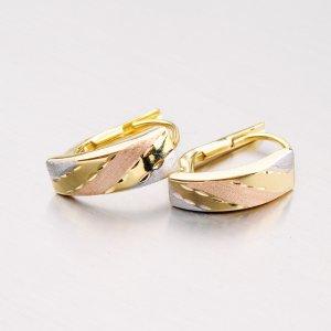 Zlaté visací náušnice 42-31505