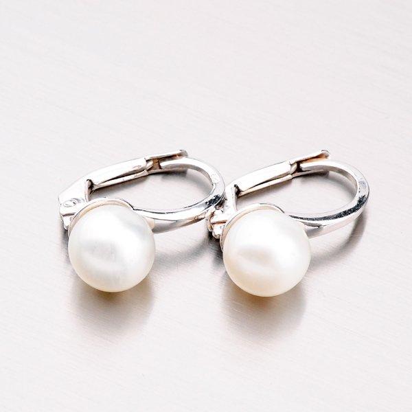 Zlaté perlové náušnice 42-31422
