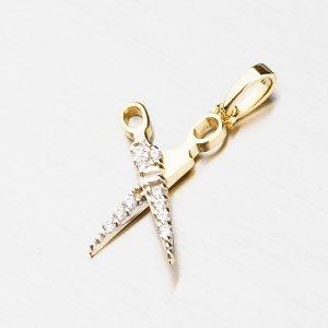 Zlatý přívěsek - nůžky 43-21515