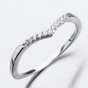 Stříbrný prsten se zirkony GST-11274