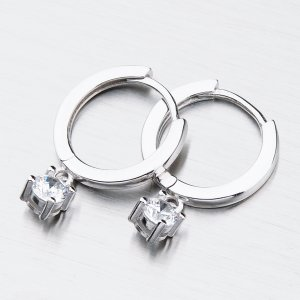 Stříbrné kruhy PKL-2033