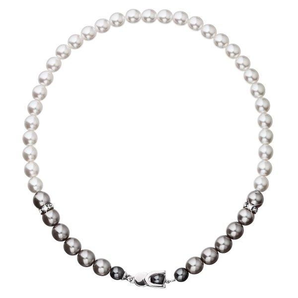 Perlový náhrdelník šedý 32043.3 32043.3