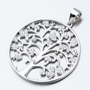 Stříbrný přívěsek - strom života HST-13416