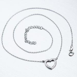 Stříbrný náhrdelník SST-151205
