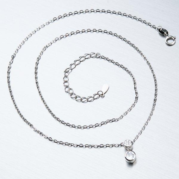 Stříbrný náhrdelník SST-151155