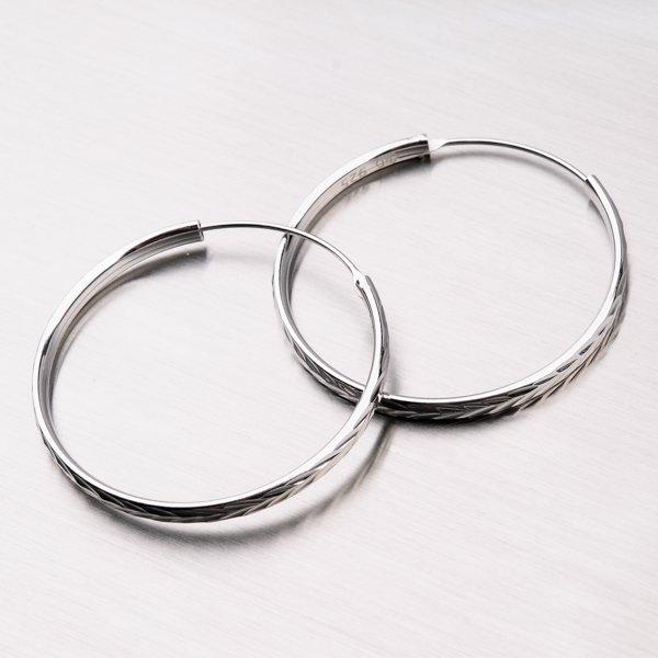 Stříbrné kruhy UCST-122099/35/N