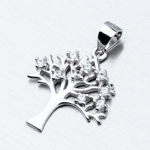 Stříbrný přívěsek - strom života HST-13561