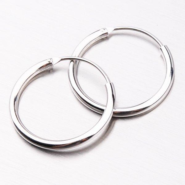 Stříbrné kruhy UCST-12351/20/N