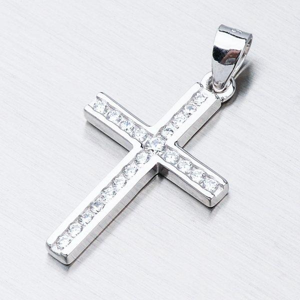 Stříbrný křížek HST-13457