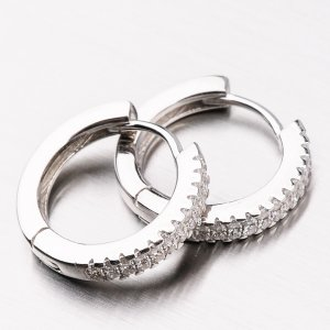 Stříbrné kruhy UCST-122083