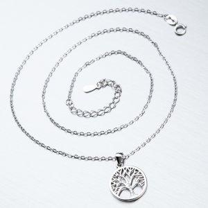 Stříbrný náhrdelník SST-15214
