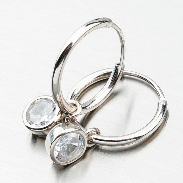 Stříbrné kruhy UST-122070C