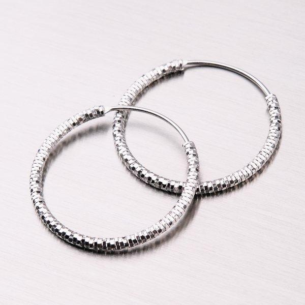 Stříbrné kruhy UCST-12350/20/N