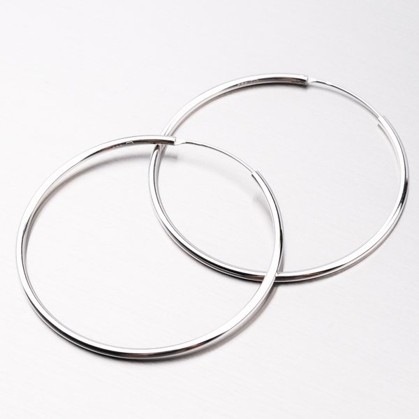 Stříbrné kruhy UCST-12351/50/N