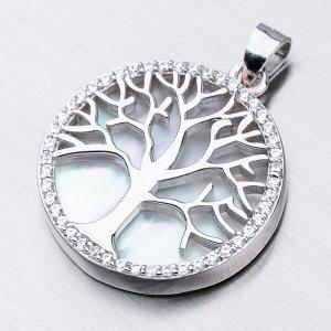 Stříbrný přívěsek - strom života TAGHST-13175