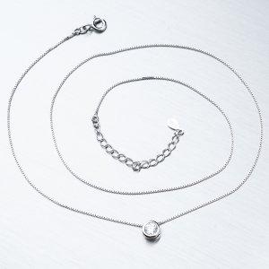 Stříbrný náhrdelník SST-15856