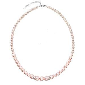 Perlový náhrdelník růžový 32036.3 32036.3 ROSALINE