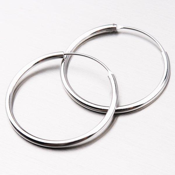 Stříbrné kruhy UCST-12351/30/N