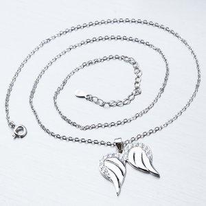 Stříbrný náhrdelník SST-151158