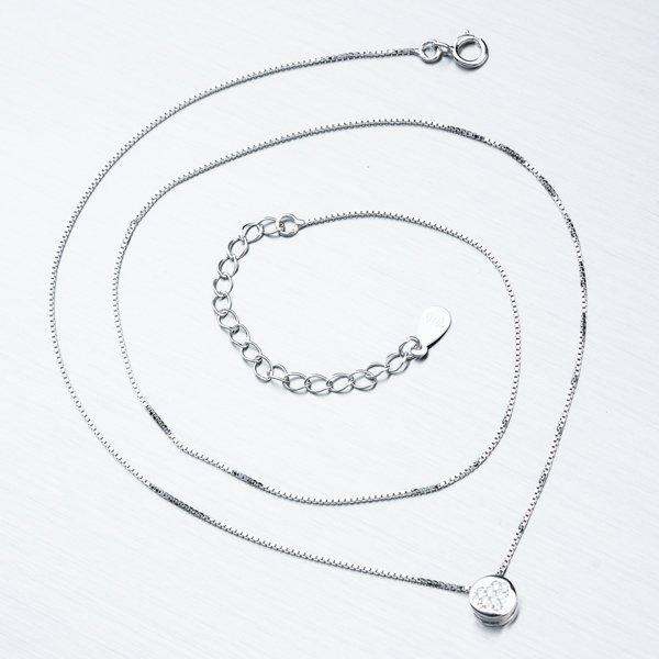 Stříbrný náhrdelník SST-151194