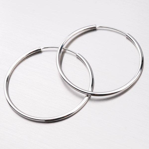 Stříbrné kruhy UCST-12351/40/N