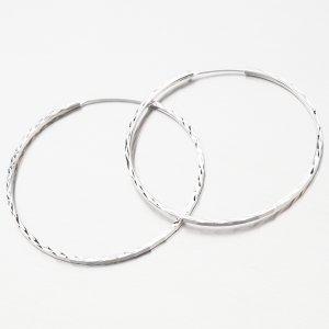 Stříbrné kruhy UCST-122439/45/B