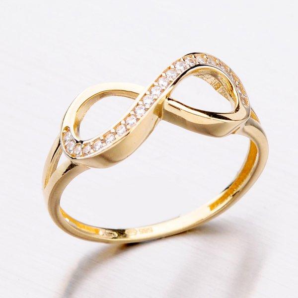 Zlatý dámský prsten 11-293