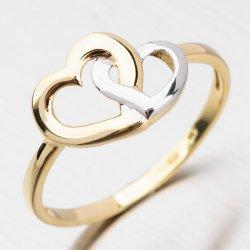 Zlatý dámský prsten 221P-111162