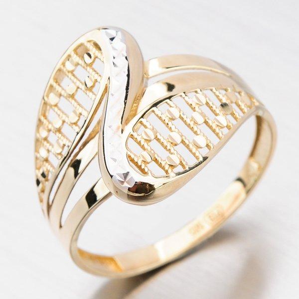 Zlatý dámský prsten 111P-111636
