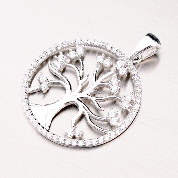 Stříbrný přívěsek - strom života GLM13-023