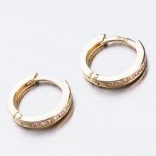 Zlaté kroužky se zirkony 52GZ-3342ZBB