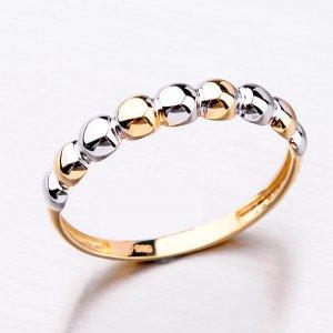Zlatý dámský prsten 11-303