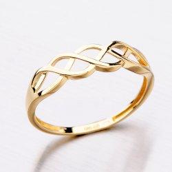 Zlatý dámský prsten 11-288