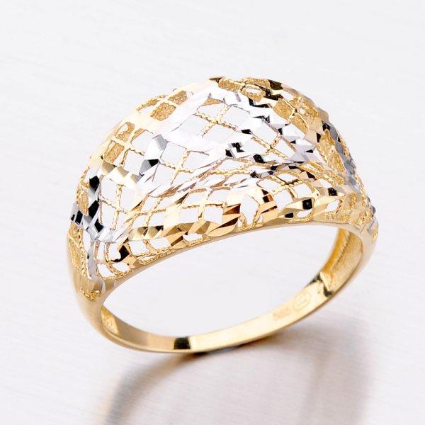 Zlatý dámský prsten 11-290