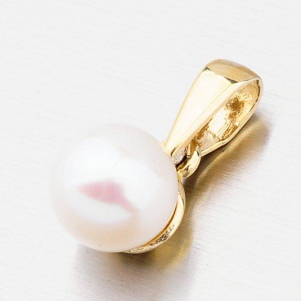 Zlatý přívěsek s perlou 452P-135040