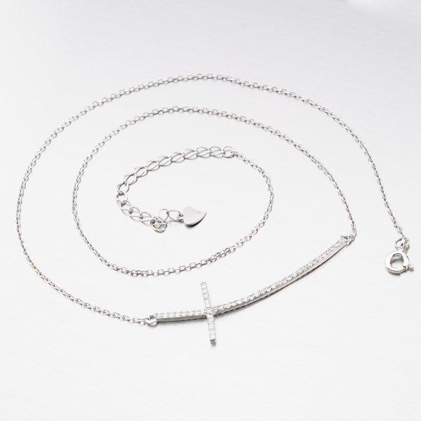 Stříbrný náhrdelník SST-151199