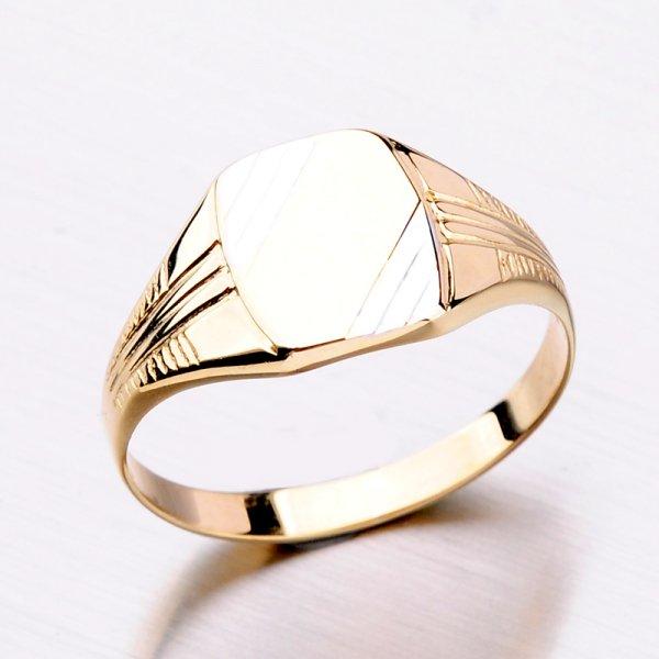 Zlatý pánský prsten 11-309