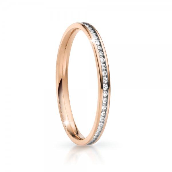 Snubní prsten se zirkony ke skládání SP-NS-06