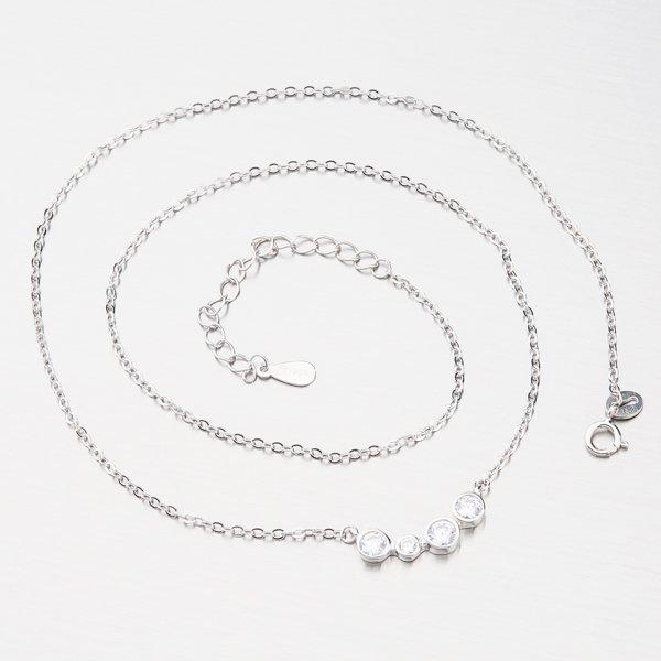 Stříbrný náhrdelník SST-151016
