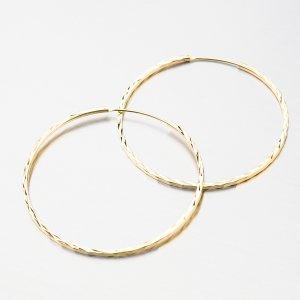Stříbrné kruhy UCST-122439/40/Z