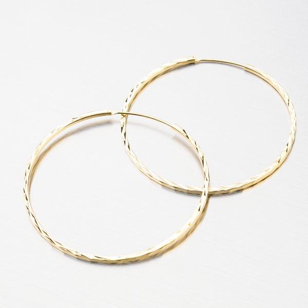 Stříbrné kruhy UCST-122439/50/Z