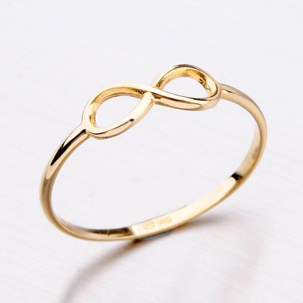 Zlatý dámský prsten 11-292