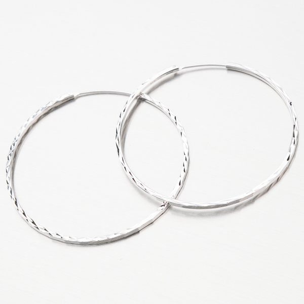 Stříbrné kruhy UCST-122439/50/B
