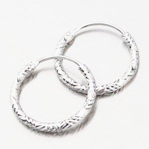 Stříbrné kruhy UCST-12644/14
