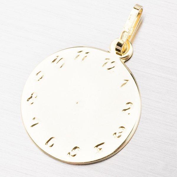 Zlatý přívěsek - křtící hodinky 202P-132475
