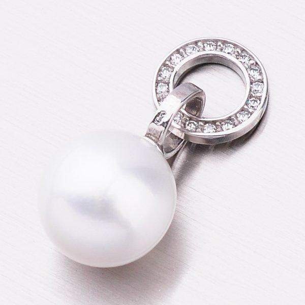 Zlatý přívěsek s perlou 53GZ-3123B