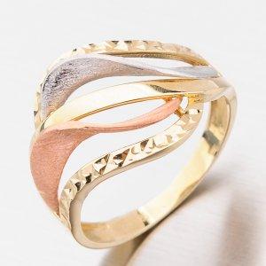 Zlatý dámský prsten 111P-114172