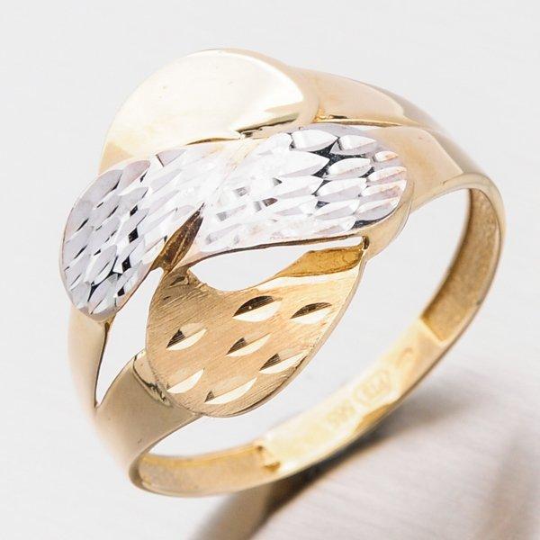 Zlatý dámský prsten 111P-111656